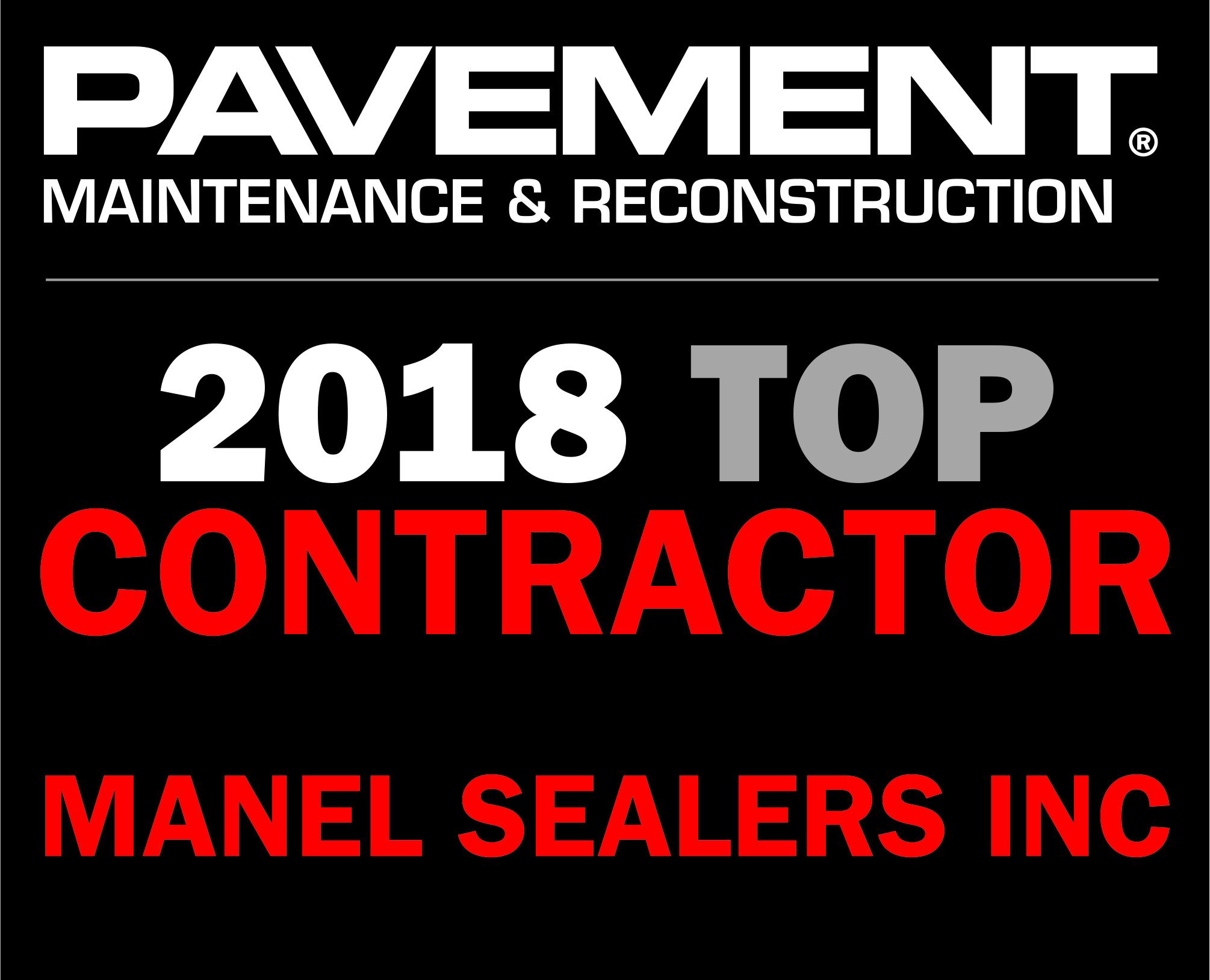 2018 Top Contractor